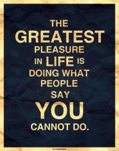 Greatest Pleasure]