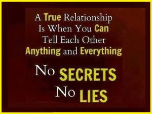 No Secrets No Lies
