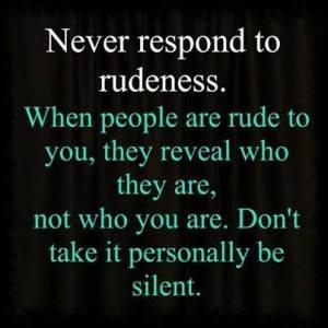 Never Respond