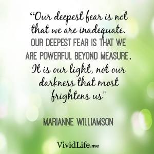 1 Our DEEPEST FEAR