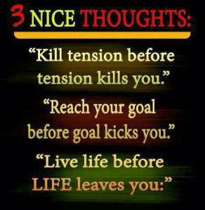 Three Nice Thoughts