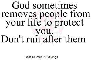 God Removes