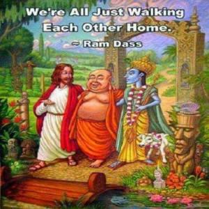 Walking home together