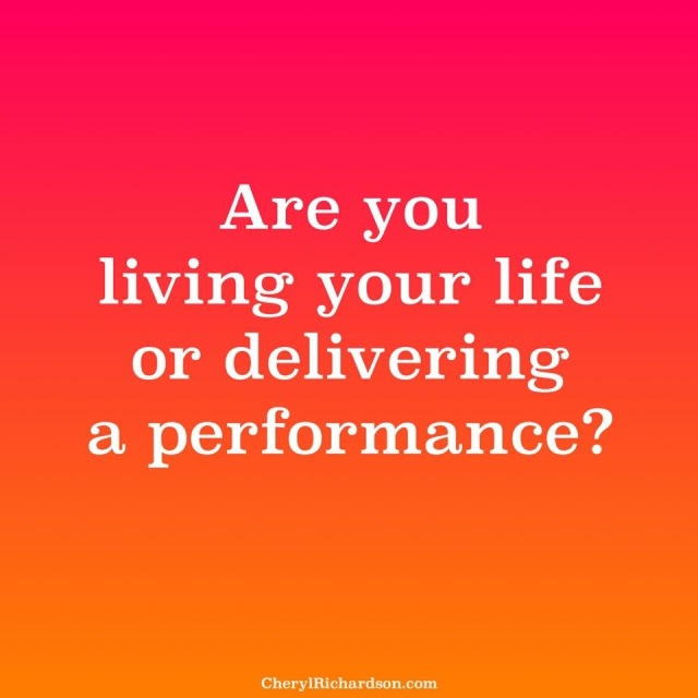 Delivering or Performing