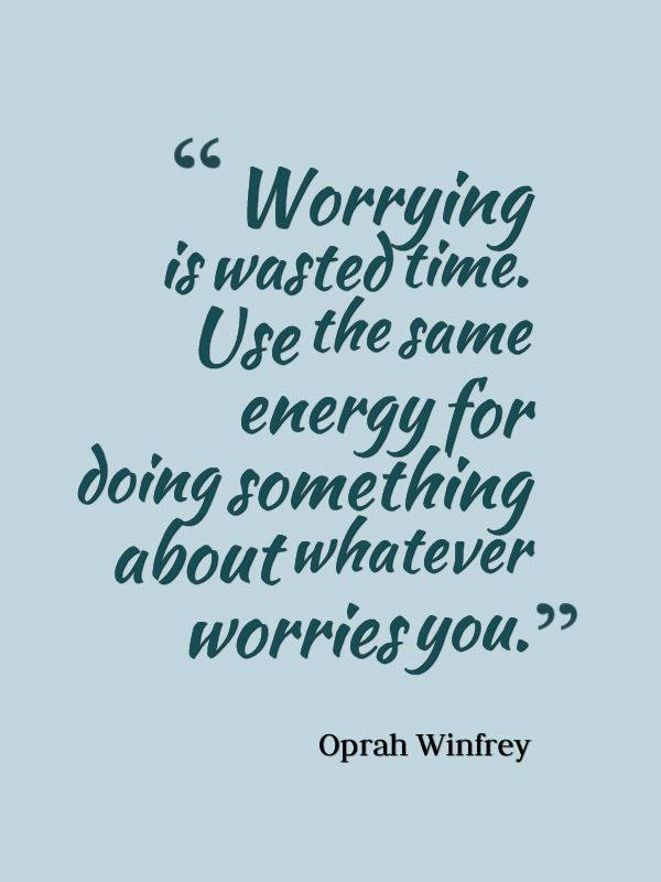 Worrying!