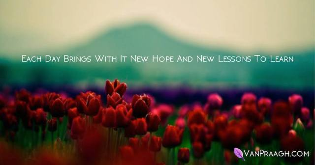 Hope and lessons